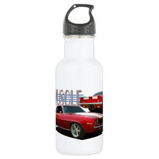 Muscle car 18oz water bottle