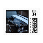 Muscle Car Baby Shower Postage