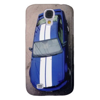 Muscle car- blue 3G/ Samsung Galaxy S4 Case