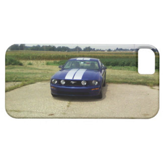 Muscle car Blue iPhone 5 Case