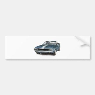Muscle Car Car Bumper Sticker