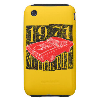 Muscle car iPhone 3 tough cases