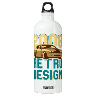 Muscle Car / Coupe Aluminum Water Bottle