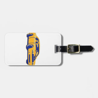 Muscle Car Coupe Luggage Tag