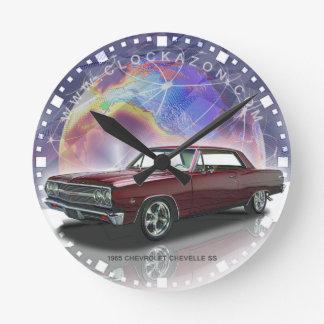Muscle Car Decorative Wall Clock