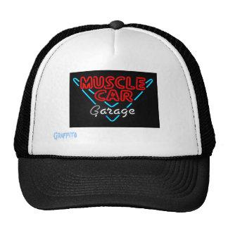 Muscle Car Garage Trucker Hat