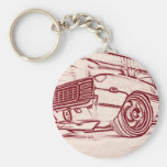 Muscle car keychain