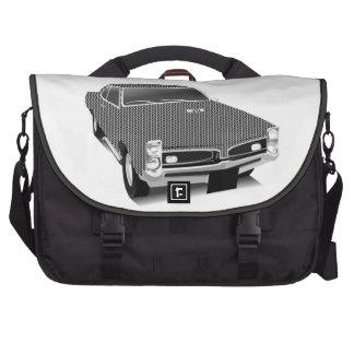 Muscle car laptop commuter bag