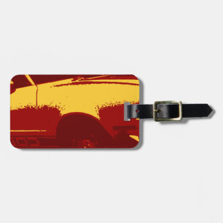 Muscle Car Luggage Tags