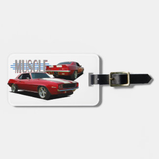 Muscle Car Luggage Tag