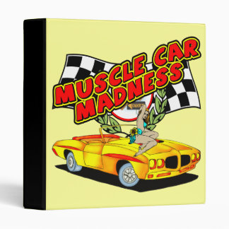 Muscle Car Madness Avery Binder