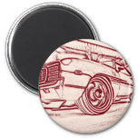 Muscle car magnets