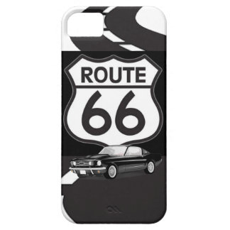 Muscle Car on Route 66 iPhone Case iPhone 5 Covers