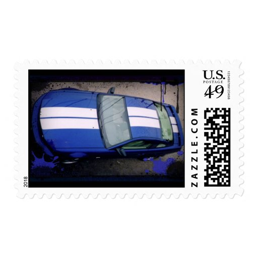 Muscle car Postage