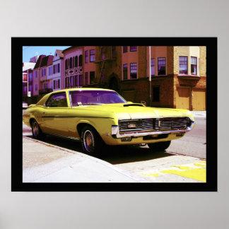 Muscle Car, San Francisco Poster