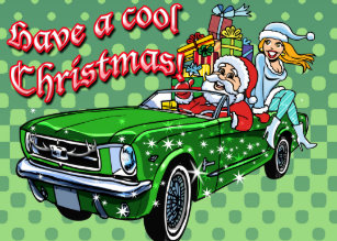 Muscle Car Christmas Gifts On Zazzle