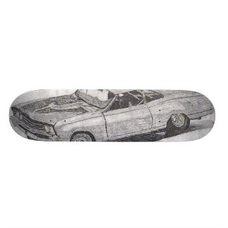 MUSCLE CAR SKATEBOARD