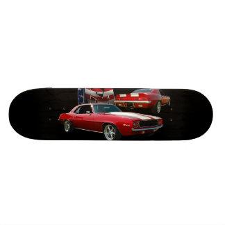 Muscle car skateboard deck