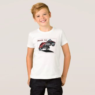 Muscle Car T-shirt for Boys