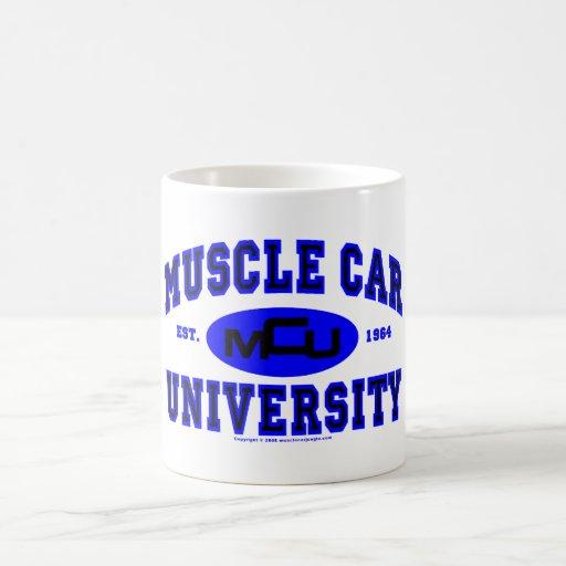 Muscle Car University II Coffee Mugs