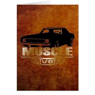 Muscle Car V8 Card