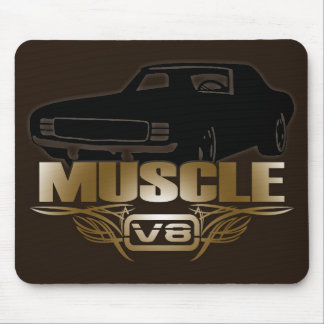 Muscle Car V8 Mouse Pad