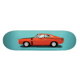 Muscle Cars - Charger Skateboard Deck