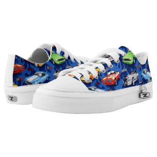 Muscle Cars Pattern Shoes