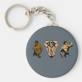 Muscle Crew - Strike a Pose Keychain