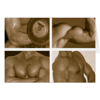 Muscle Flex: www.AriesArtist.com Greeting Cards
