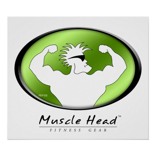 Muscle Head Poster