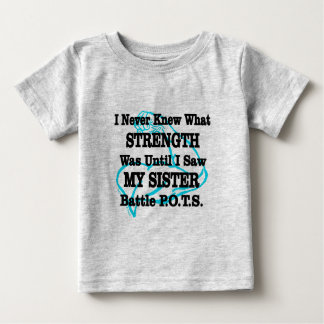 Muscle/I Never Knew...Sister Baby T-Shirt
