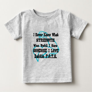 Muscle/I Never Knew...Someone I Love Baby T-Shirt