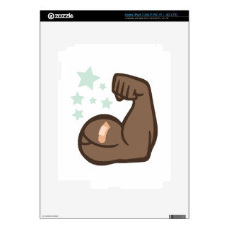 Muscle Man Decals For iPad 3