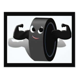 Muscle Man Hockey Puck Announcement