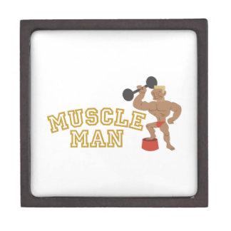 Muscle Man Premium Keepsake Box