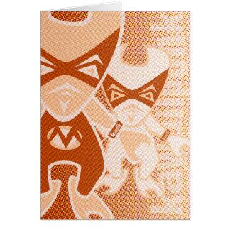 Muscle Mascot Card