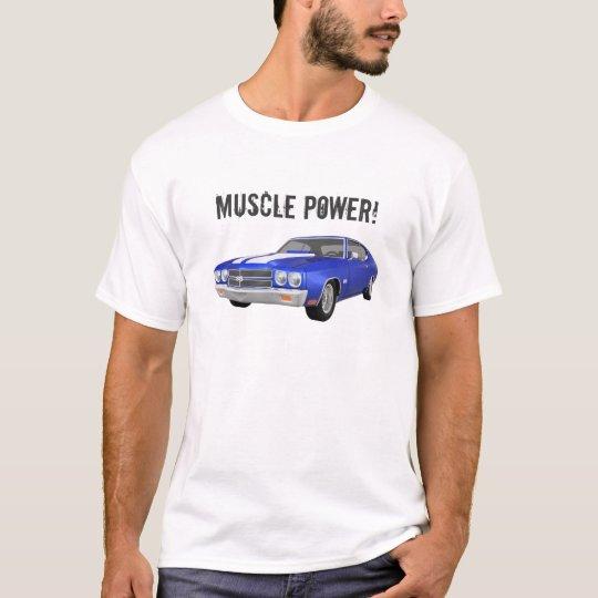 Muscle Power: Chevelle 3D Model: T-Shirt