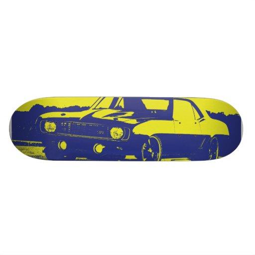 Muscle skateboard