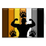 Musclebear Pride Greeting Card