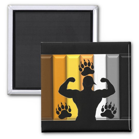 Musclebear Pride Magnet