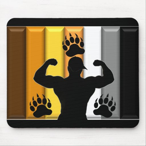 Musclebear Pride Mouse Pad