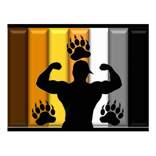 Musclebear Pride Postcards