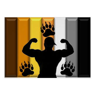 Musclebear Pride Poster