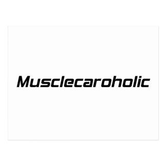 Musclecaroholic By Gear4gearheads Postcard