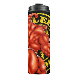 MUSCLEHEDZ GYM THERMAL TUMBLER