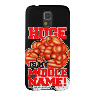 MUSCLEHEDZ - HUGE IS MY MIDDLE NAME! GALAXY S5 CASE