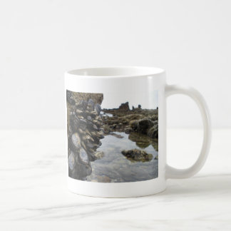 Muscles and Rocks on Newport Beach Coffee Mug