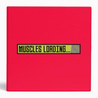 Muscles Loading Progressbar Zqy9t 3 Ring Binder