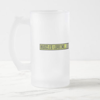 Muscles Loading Progressbar Zqy9t Frosted Glass Beer Mug